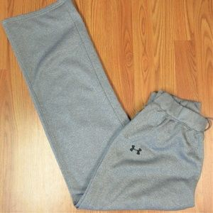 UNDER ARMOUR Mens POLYESTER PANTS HEATHERED GRAY